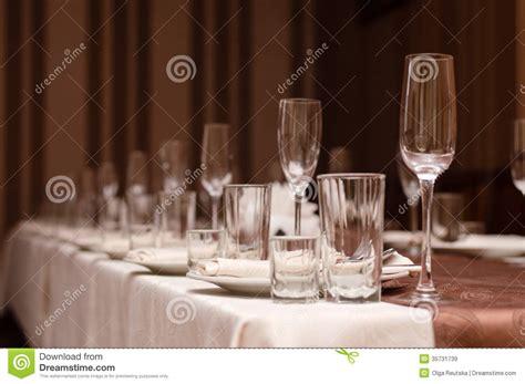 bicchieri ristorante aspetti per il partito disposizione della tavola