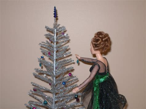 playscale 1 6 or 1 4 scale silver aluminum christmas tree
