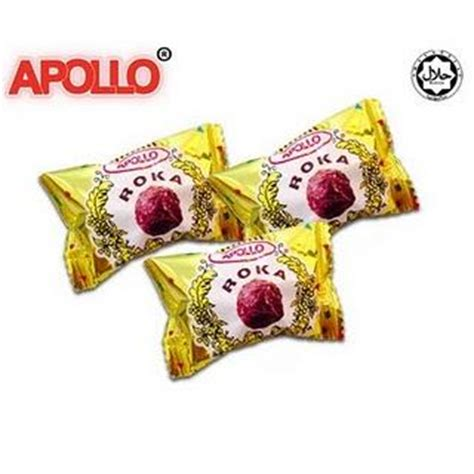 apollo roka wafer ball wafer bola coklat isi pc wafer