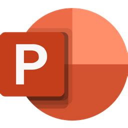 Free Microsoft powerpoint Flat Icon - Available in SVG ...