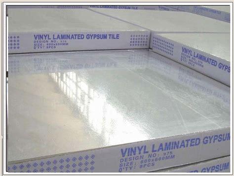 price of acoustic pvc ceiling vinyl laminated gypsum tile vinyl faced gypsum board buy