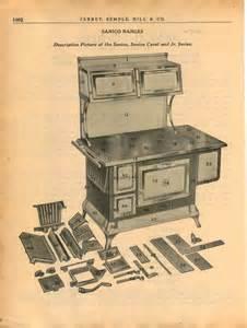 1940 Ad 9 Page Sanico Coal Wood Burning Range Stove Oven