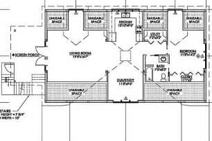 Pole Barn Home Floor Plans