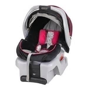 Baby Girl Graco Infant Car Seat