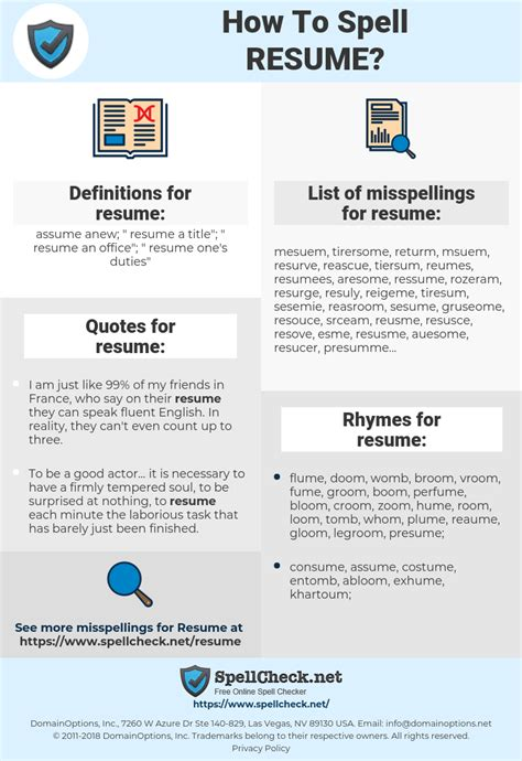 Correct Spelling Of Resume by Correct Spelling Of Resume Resumes Engne Euforic Co Sle
