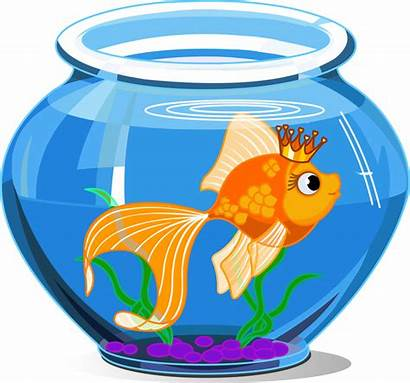 Goldfish Cartoon Isolated Illustration Qvectors Eps