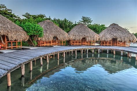 Overwater Bungalows In The Carribbean, Mexico And The Us