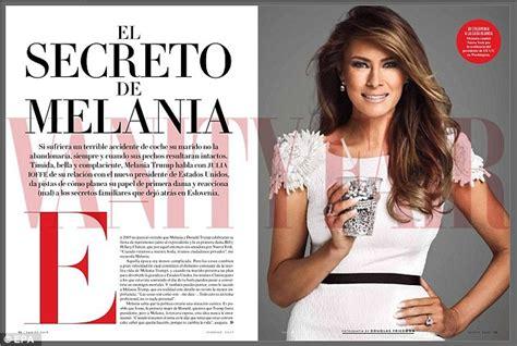 vanity fair mexico mexican vanity fair rehashes slammed melania story