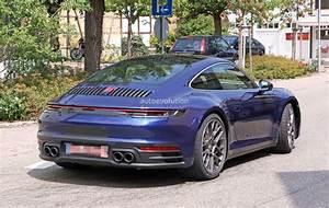 2019 Porsche 911 992 Spied Uncamouflaged Looks Ready