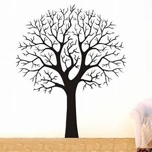 large tree branch wall decor removable vinyl decal home With wall decal tree