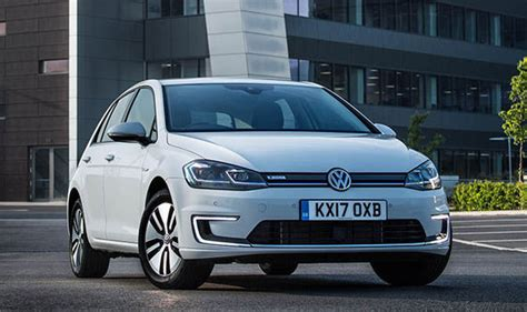vw e golf 2017 electric car has more range and 163