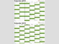KALENDER 2019 ZUM AUSDRUCKEN KOSTENLOS