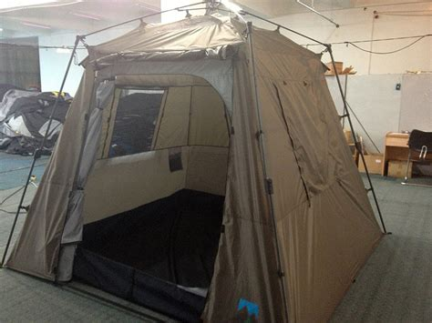 person quick set stand  dome tent rain fly window screen