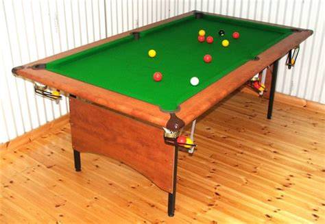 folding pool table 7ft madden 39 s quality leisure sports equipment
