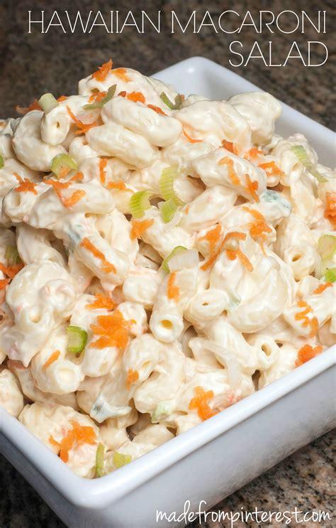 hawaiian macaroni salad recipe tgif  grandma  fun