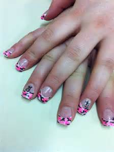 Browning Buck Pink Camo Nail At Roseburg Beauty School Fancy Camo Nail Designs For A Change Of Pace On Your Looks
