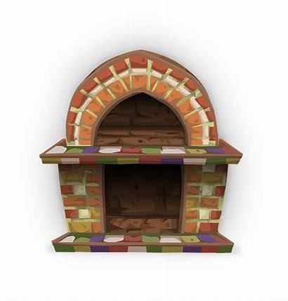 Fireplace Clipart Transparent Clip Cozy Fireplaces Living