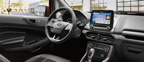 ford ecosport compact suv technology features
