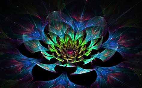 3D Lotus Flower Phone wallpapers