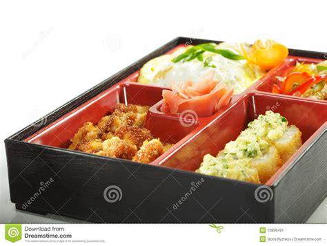 cuisine bento japanese cuisine bento lunch stock image image 10896491