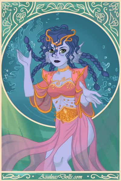 magical elf dress  fish princess  jessie