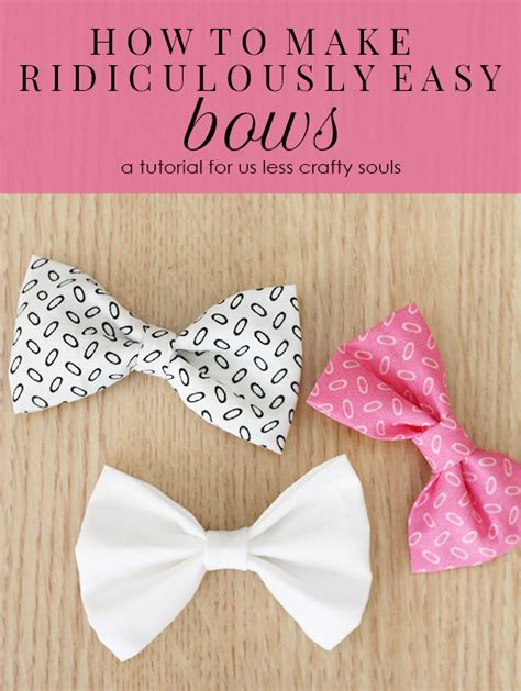 how to make baby hair how to make ridiculously easy bows i could just buy