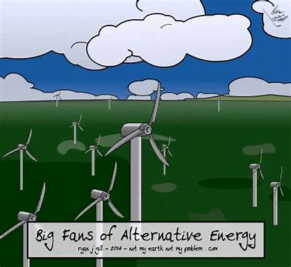 Climate Change Energy Cartoons Power Changes Fans