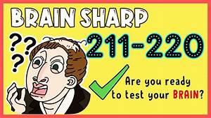 Brain Sharp Level 211 212 213 214 215 216 217 218 219 220
