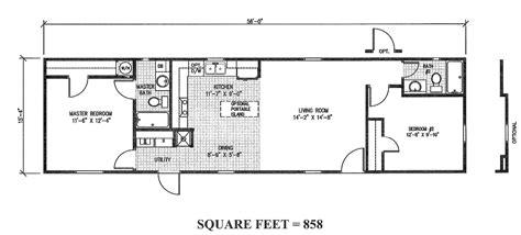 16x50 House Plans