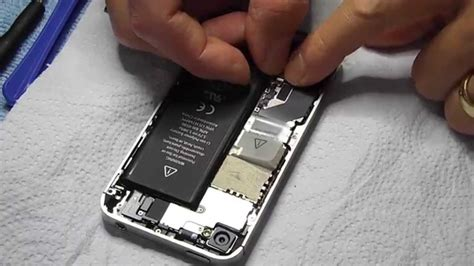 apple iphone   battery replacement step  step full