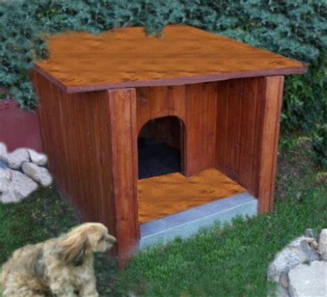 hundehütte selber bauen flachdach hundeh 252 tte selber bauen eine anleitung
