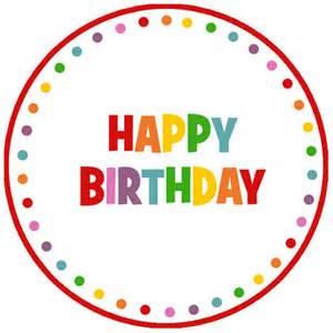 Happy Birthday Clip Art Tags