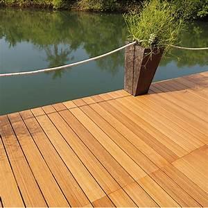 Bambus Terrassendielen Erfahrungen : terrassendiele classico plus bambus 300 x 14 x 2 cm bauhaus ~ Sanjose-hotels-ca.com Haus und Dekorationen