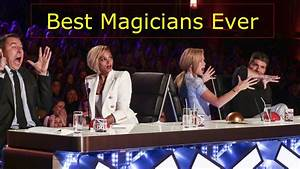 American And Britain's Best Magician Ever ! Best Of Got ...