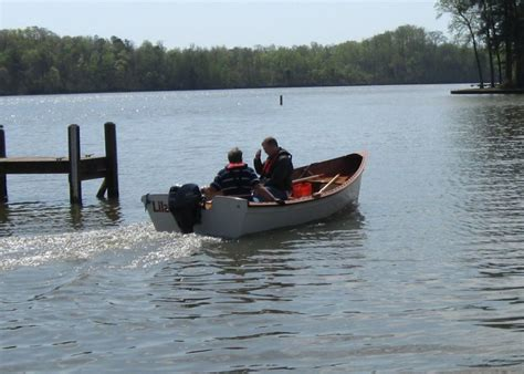 Clc Boats Peeler Skiff by Lilah Woodenboat Magazine