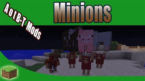 Minions  Minecraft Mod Review  Tutorial [german] Deine