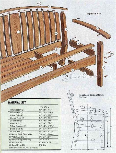 garden bench diy woodarchivist