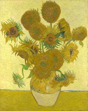 vincent van gogh sunflowers ng  national gallery london