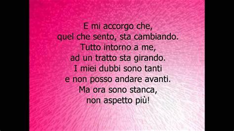Violetta Canzoni Con Testo - violetta nel mio mondo testo letra