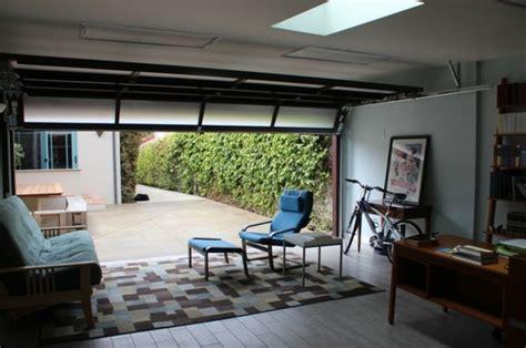 transformer garage en bureau amenagement garage habitation moderne design de maison