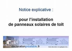 Declaration Achevement Travaux : declaration prealable de travaux panneaux solaires toit ~ Melissatoandfro.com Idées de Décoration