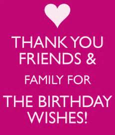 thank you friends family for the birthday wishes poster keep calm o matic