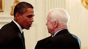 John McCain wants Barack Obama and George W. Bush to ...