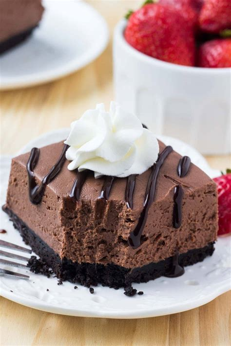 bake chocolate cheesecake simple delicious lil luna