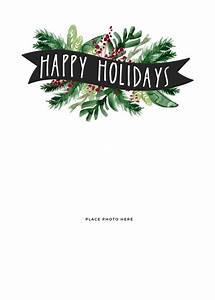 Printable Christmas Cards Templates