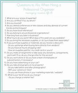 1000 images about professional organizing on pinterest With professional organizer contract template