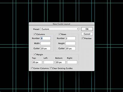 Layout Photoshop Guide Tool Guides Feature Cc