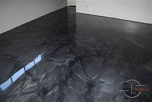 metallic epoxy basement floor basement ideas concrete