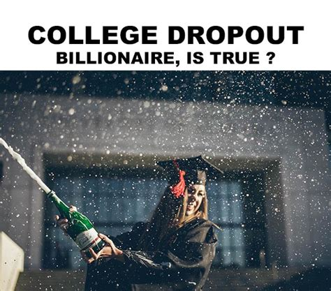How To Become Millionaire Articles: COLLEGE DROPOUT ...