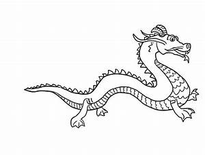 Chinese Dragon Drawing In Pencil - Drawing Of Pencil